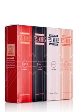 Essentials Quad Pack for Her 50ml